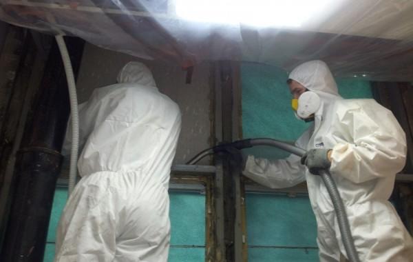 Demontaż azbestu