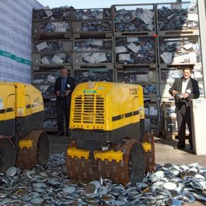 Komisyjne niszczenie podrabianych towarów